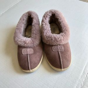 [Ugg] Hard-sole Sheepskin Slippers